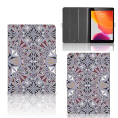 iPad 10.2 (2019) | iPad 10.2 (2020) Leuk Tablet hoesje  Flower Tiles