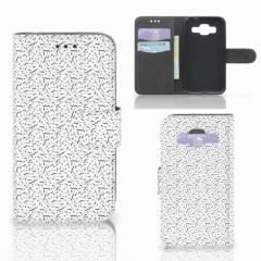 Samsung Galaxy Core Prime Telefoon Hoesje Stripes Dots