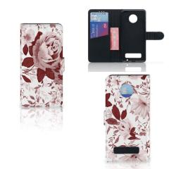 Hoesje Motorola Moto Z Play Watercolor Flowers