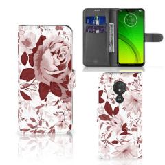 Hoesje Motorola Moto G7 Power Watercolor Flowers