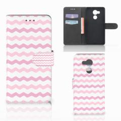 Huawei Mate 8 Telefoon Hoesje Waves Roze