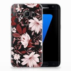 Hoesje maken Samsung Galaxy S7 Edge Watercolor Flowers