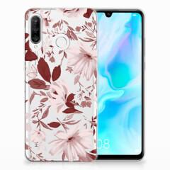 Hoesje maken Huawei P30 Lite Watercolor Flowers