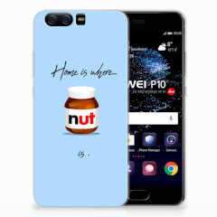 Huawei P10 Siliconen Case Nut Home
