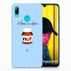 Huawei P Smart 2019 Siliconen Case Nut Home