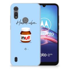 Motorola Moto E6s Siliconen Case Nut Home