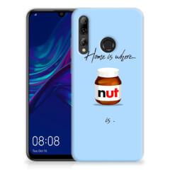 Huawei P Smart Plus (2019) Siliconen Case Nut Home