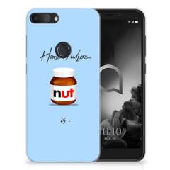 Alcatel 1S (2019) Siliconen Case Nut Home