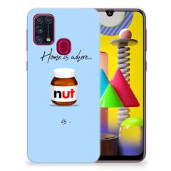 Samsung Galaxy M31 Siliconen Case Nut Home