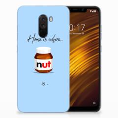 Xiaomi Pocophone F1 Siliconen Case Nut Home