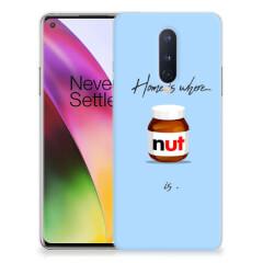 OnePlus 8 Siliconen Case Nut Home