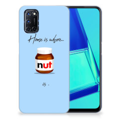 OPPP A52 | A72 Siliconen Case Nut Home