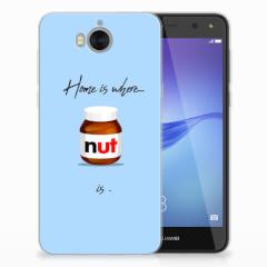 Huawei Y5 2017 | Y6 2017 Siliconen Case Nut Home