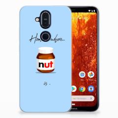 Nokia 8.1 Siliconen Case Nut Home