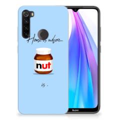 Xiaomi Redmi Note 8T Siliconen Case Nut Home
