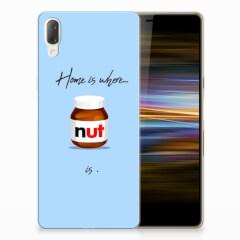Sony Xperia L3 Siliconen Case Nut Home