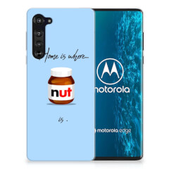 Motorola Edge Siliconen Case Nut Home