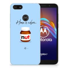 Motorola Moto E6 Play Siliconen Case Nut Home