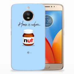 Motorola Moto E4 Plus Siliconen Case Nut Home
