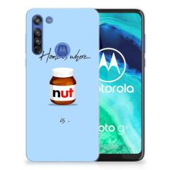 Motorola Moto G8 Siliconen Case Nut Home