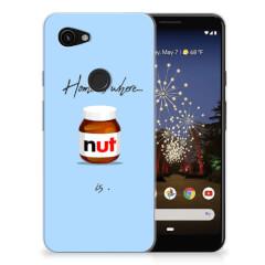 Google Pixel 3A Siliconen Case Nut Home