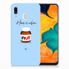 Samsung Galaxy A30 Siliconen Case Nut Home