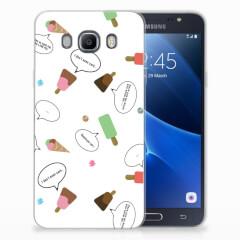 Samsung Galaxy J7 2016 Siliconen Case IJsjes