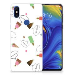 Xiaomi Mi Mix 3 Siliconen Case IJsjes