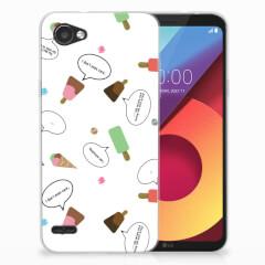 LG Q6   LG Q6 Plus Siliconen Case IJsjes