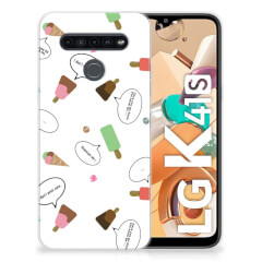 LG K41s Siliconen Case IJsjes