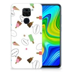 Xiaomi Redmi Note9 Siliconen Case IJsjes