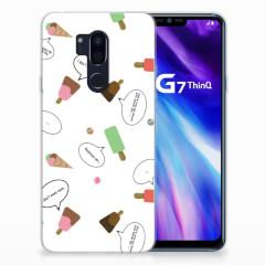 LG G7 Thinq Siliconen Case IJsjes
