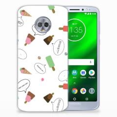 Motorola Moto G6 Plus Siliconen Case IJsjes