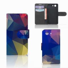 Sony Xperia Z3 Compact Bookcase Polygon Dark