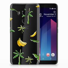 HTC U11 Plus TPU Case Banana Tree