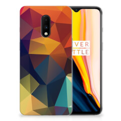 OnePlus 7 TPU Hoesje Polygon Color
