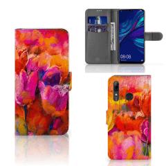 Boekhoesje Huawei P Smart Plus (2019) met eigen foto