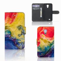 Hoesje Samsung Galaxy S4 Watercolor Dark