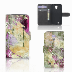 Hoesje Samsung Galaxy S4 Letter Painting