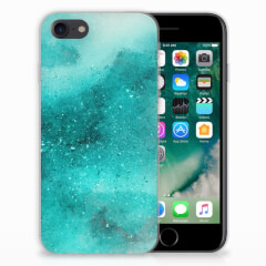 Hoesje maken iPhone SE (2020) | 7/8 Painting Blue