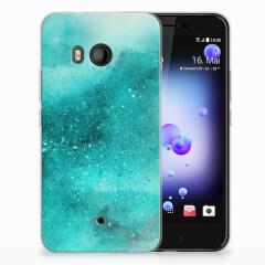 Hoesje maken HTC U11 Painting Blue