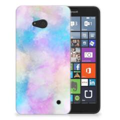 Hoesje maken Microsoft Lumia 640 Watercolor Light
