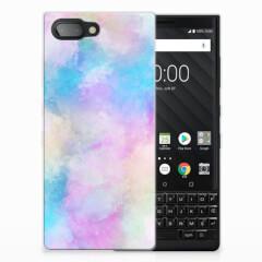 Hoesje maken BlackBerry Key2 Watercolor Light
