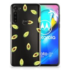 Motorola Moto G8 Power Siliconen Case Avocado