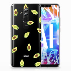 Huawei Mate 20 Lite Siliconen Case Avocado