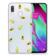 Samsung Galaxy A40 Siliconen Case Avocado