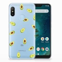 Xiaomi Mi A2 Lite Siliconen Case Avocado