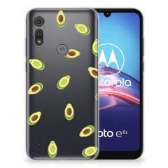 Motorola Moto E6s Siliconen Case Avocado