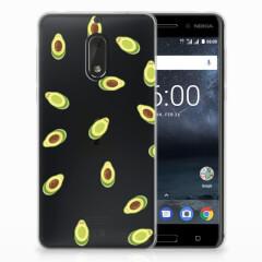 Nokia 6 Siliconen Case Avocado