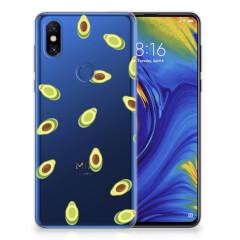 Xiaomi Mi Mix 3 Siliconen Case Avocado